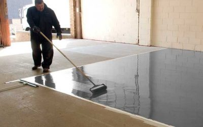 Liquid epoxy resin covering / two-component / for concrete